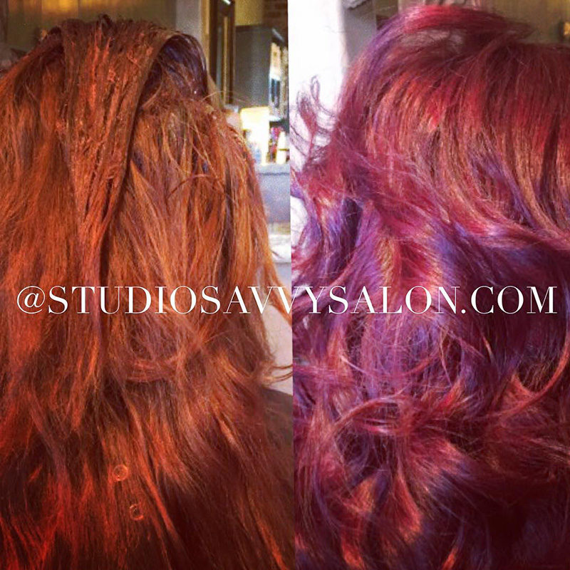 Hair Color Redhead Best Salon