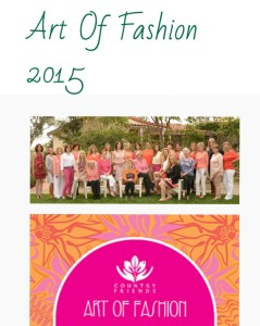 Art of fashion comittee in San Diego