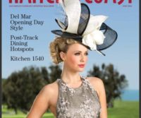 Hair and Make-up for the July cover of Ranch & Coast Magazine is artfully done by Deena Von Yokes and James Overstreet.