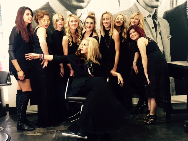 Glam squad shines as guest artists at paul mitchell for A salon paul mitchell san diego