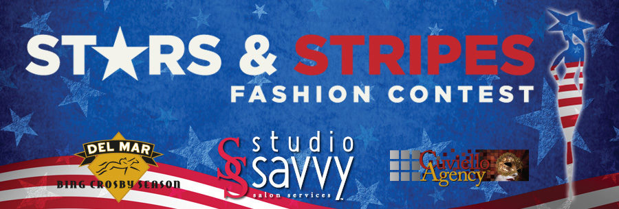 Stars & Stripes Fashion Contest - Del Mar Opening Day 2016, Produced by DMTC, Creative Director - Deena Von Yokes, Contest Director - Joe Cuviello