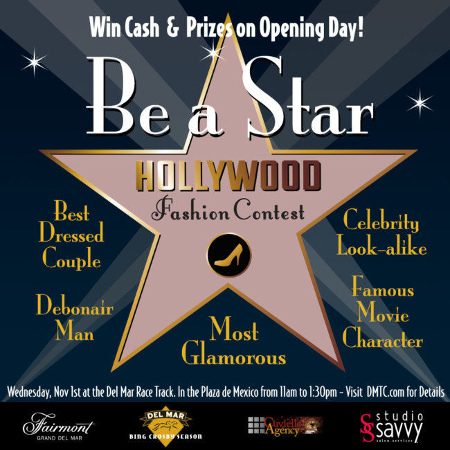 Del Mar Bing Crosby Season 2017 – Hollywood Fashion Contest