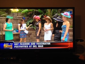 Snap shot of our team live, on air at KUSI