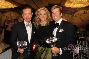 Pat Kruer, Deena Von Yokes and Johnathon Collopy looking fabulous (as always) at the Best Dressed Gala.