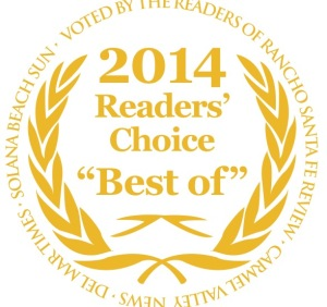 "Voted Readers Choice ""Best of"" Hair Salon for 2014 North County San Diego"