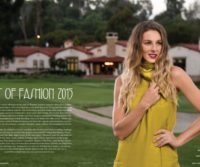 Art of Fashion event Featured in the September edition of Ranch & Coast hair by Deena Von Yokes owner of Studio Savvy Salon located in Rancho Santa Fe